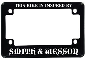 aa cycle frame - Motorcycle License Plate Frames